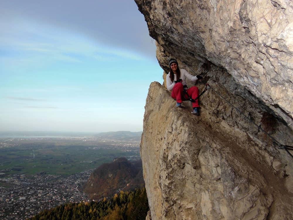 Klettersteig Kessi 1