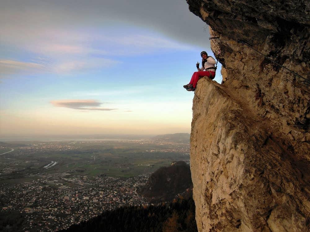 Klettersteig Känzele : Klettersteige mal ganz was neues moosbrugger climbing
