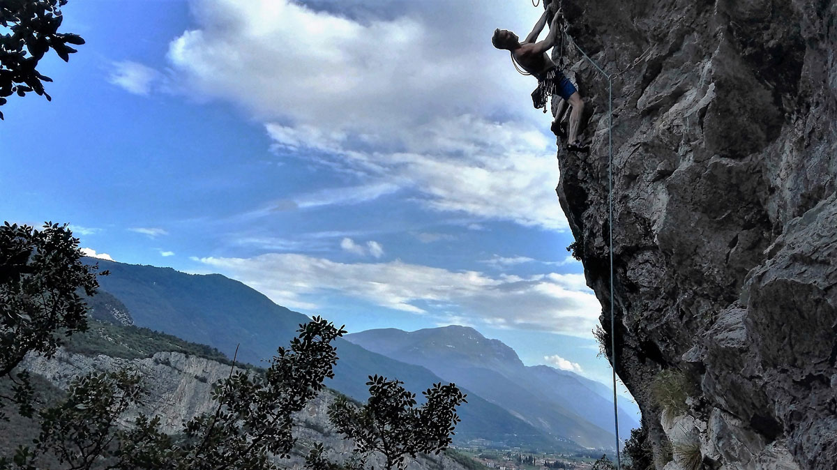 Klettern in den Dolomiten und am Gardasee