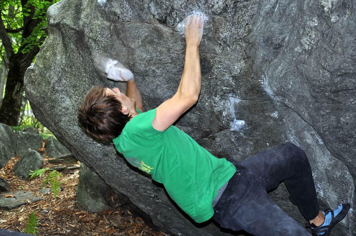 Marco boulder 7f 7b+