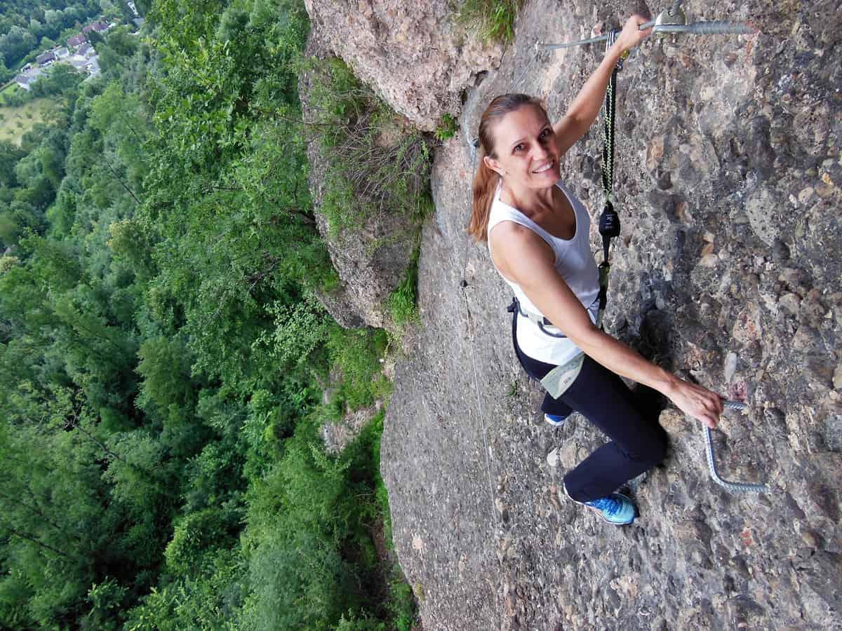 Klettersteig Känzele : Känzele klettersteig bei bregenz moosbrugger climbing