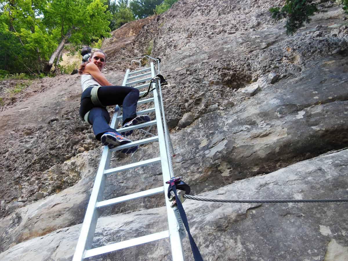 Klettersteig Känzele : Känzele klettersteig moosbrugger climbing
