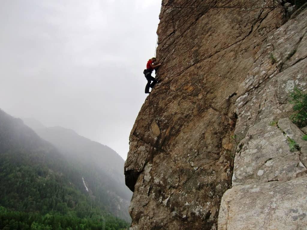 Klettern im Ötztal - ein Wochenendausflug ins schöne Tirol