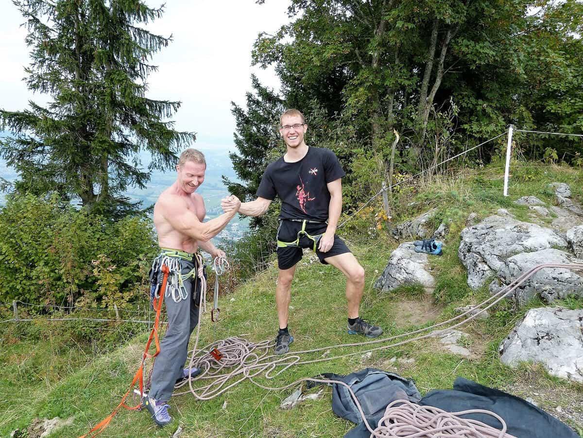 Kapfdach und Kessi Klettersteig (7)