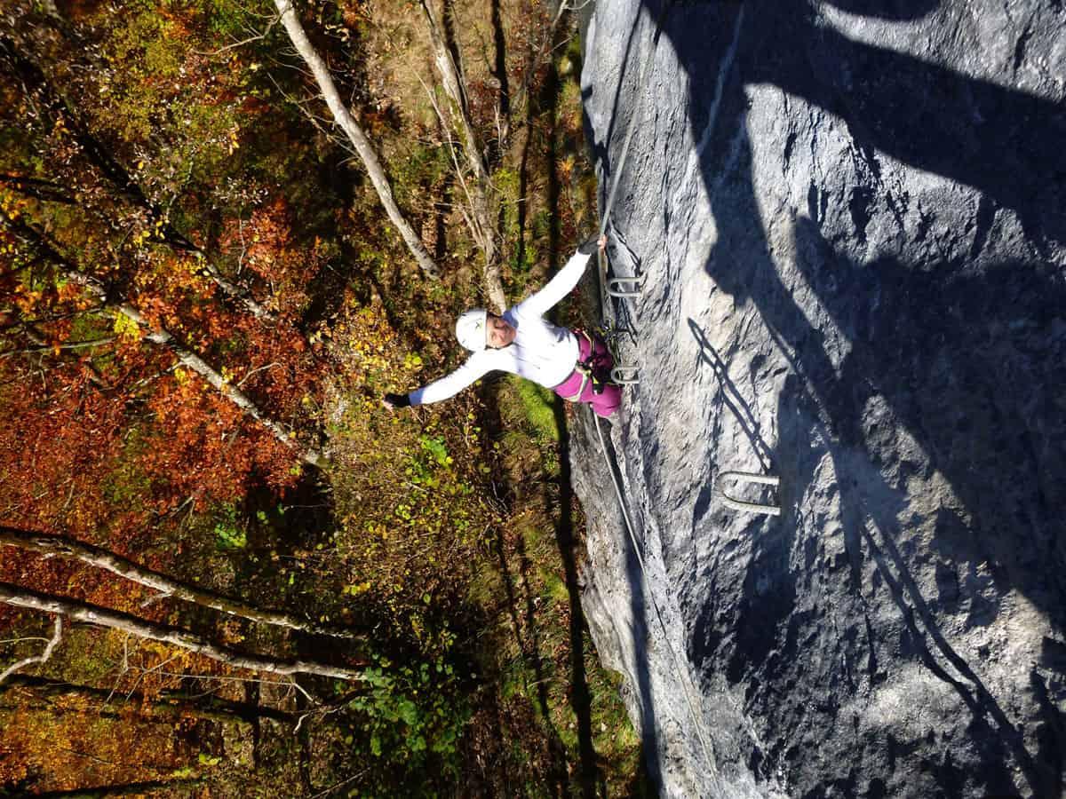Wälder Klettersteig und Abendrot (11)
