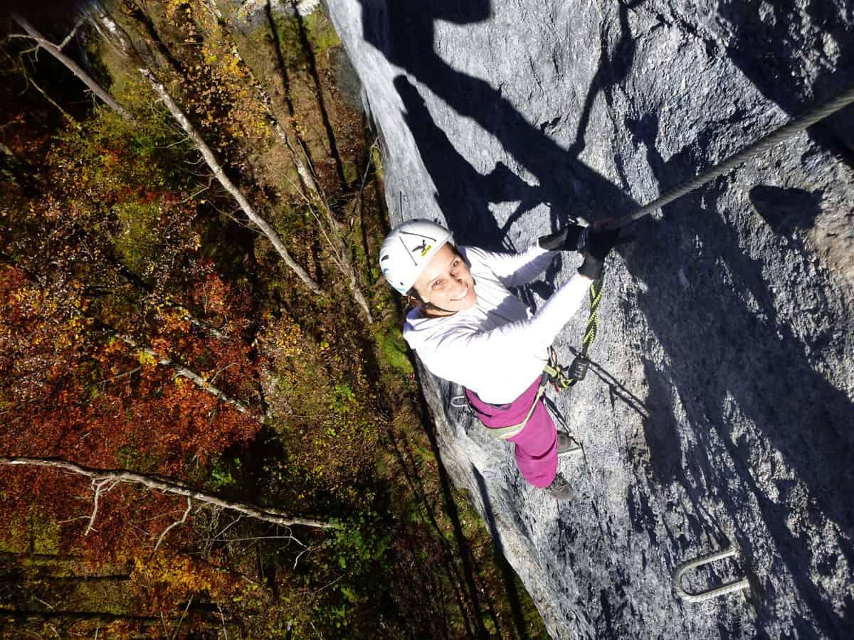 Wälder Klettersteig und Abendrot (12)