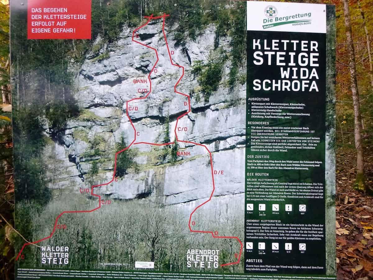 Wälder Klettersteig und Abendrot (5)