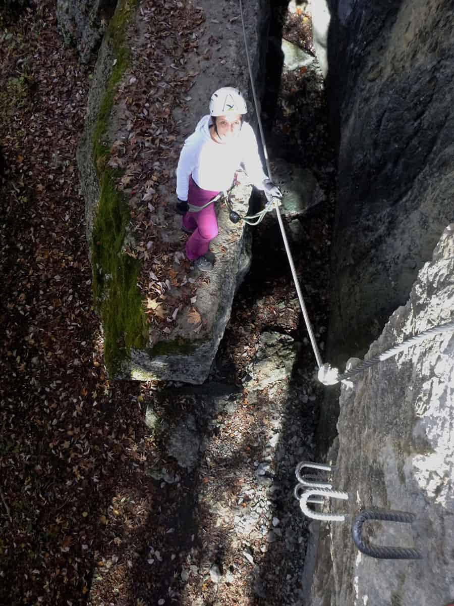 Wälder Klettersteig und Abendrot (7)