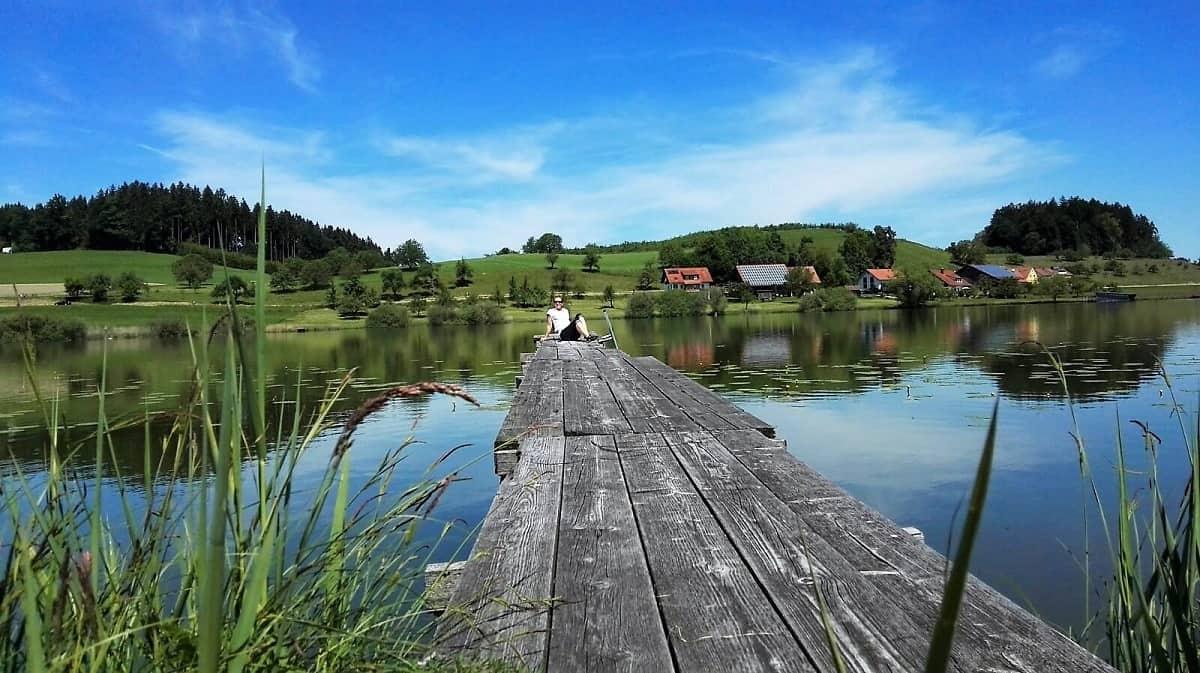 Schöne Seen-Radtour im Westallgäu