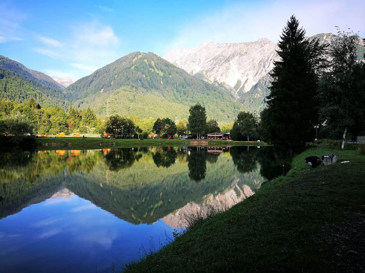 Klettersteig Hochjoch : Klettersteig hochjoch schwarzsee fototapete u fototapeten