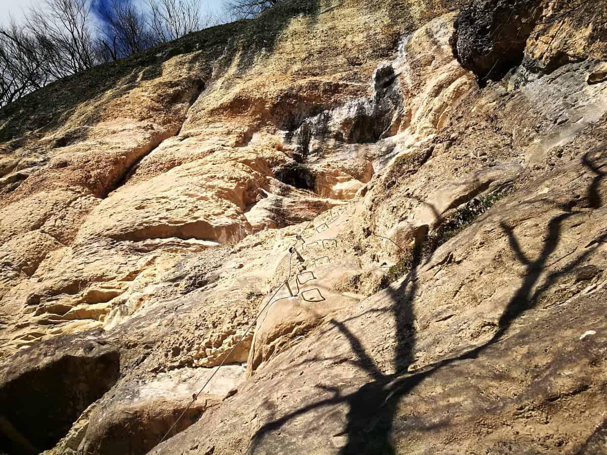 Klettersteig Känzele : Känzele klettersteig eine winterbegehung moosbrugger climbing