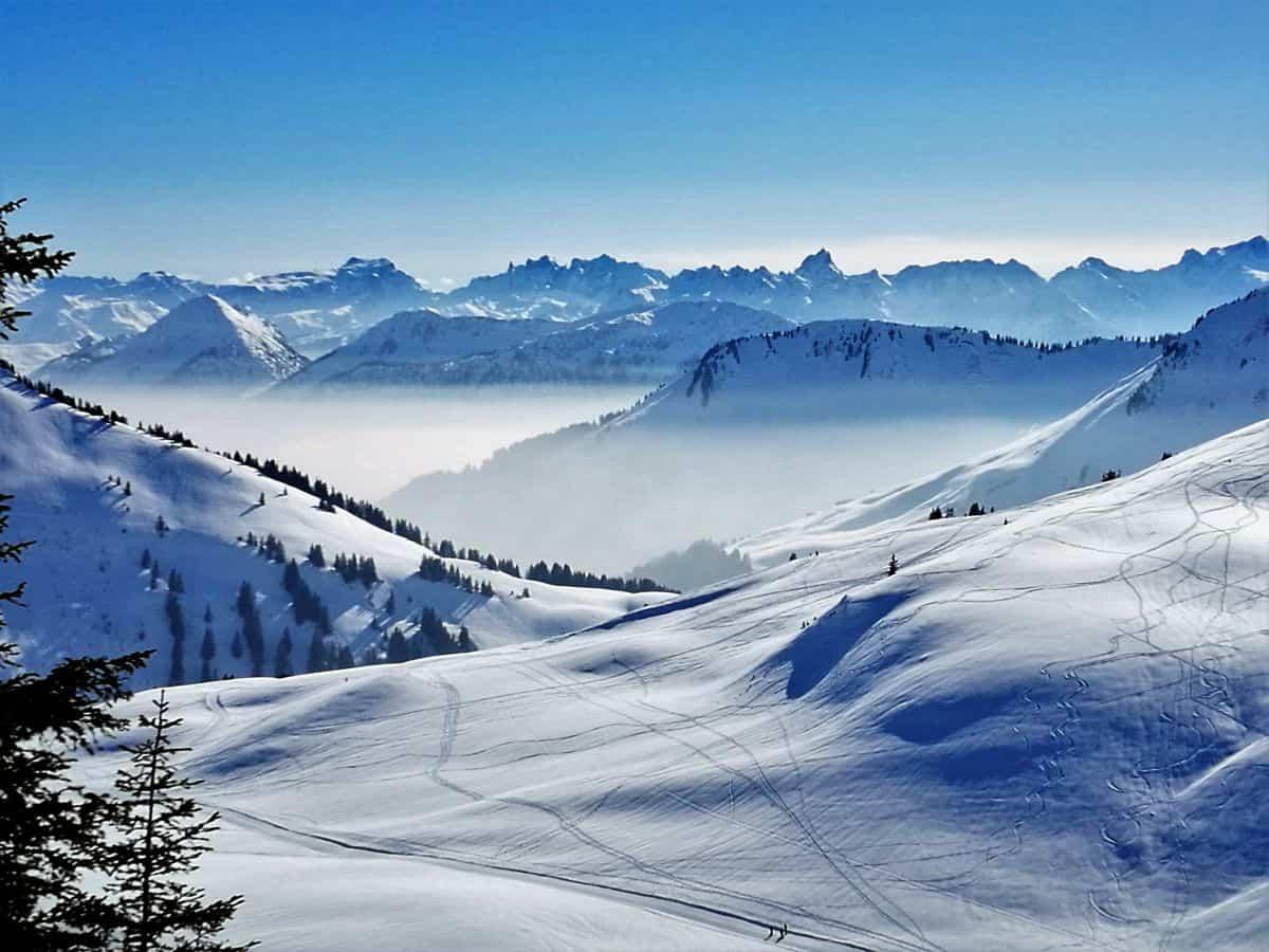 Damüls Skigebiete im Bregenzerwald