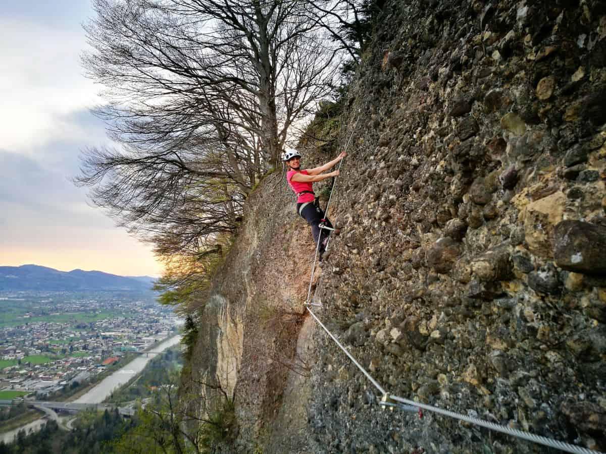 Klettersteig Bregenz : Der neue klettersteig am känzele variante moosbrugger climbing