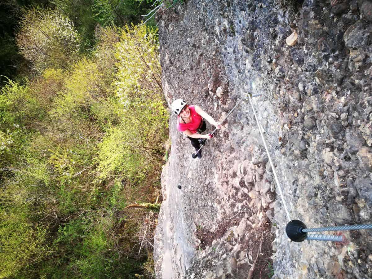 Klettersteig Känzele : Der neue klettersteig am känzele variante moosbrugger climbing