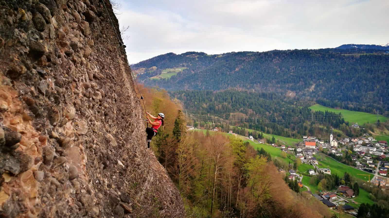 Der neue Klettersteig am Känzele - Variante 3
