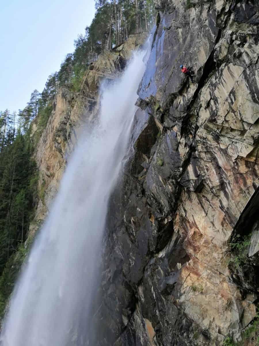 beeindruckende Wasserfälle