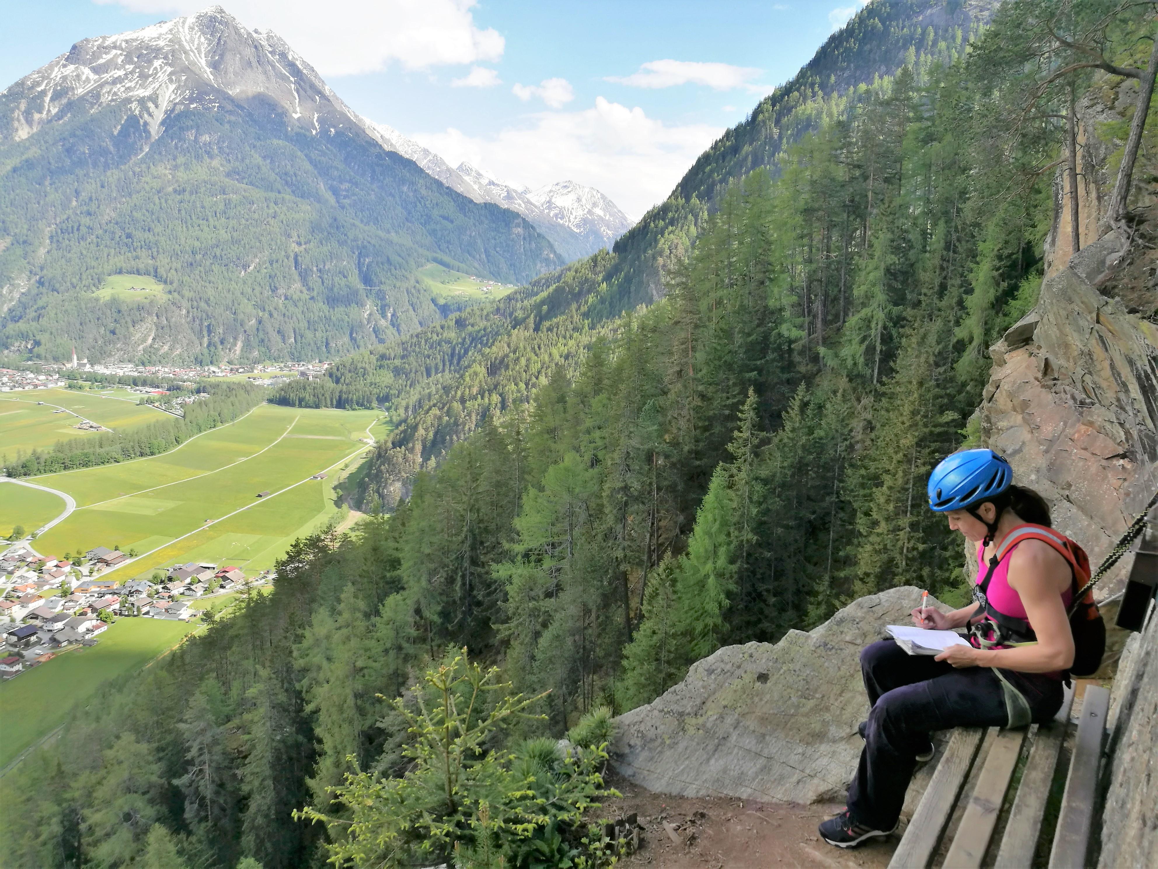 Klettersteig Längenfeld : Der spektakuläre lehner wasserfall klettersteig moosbrugger climbing