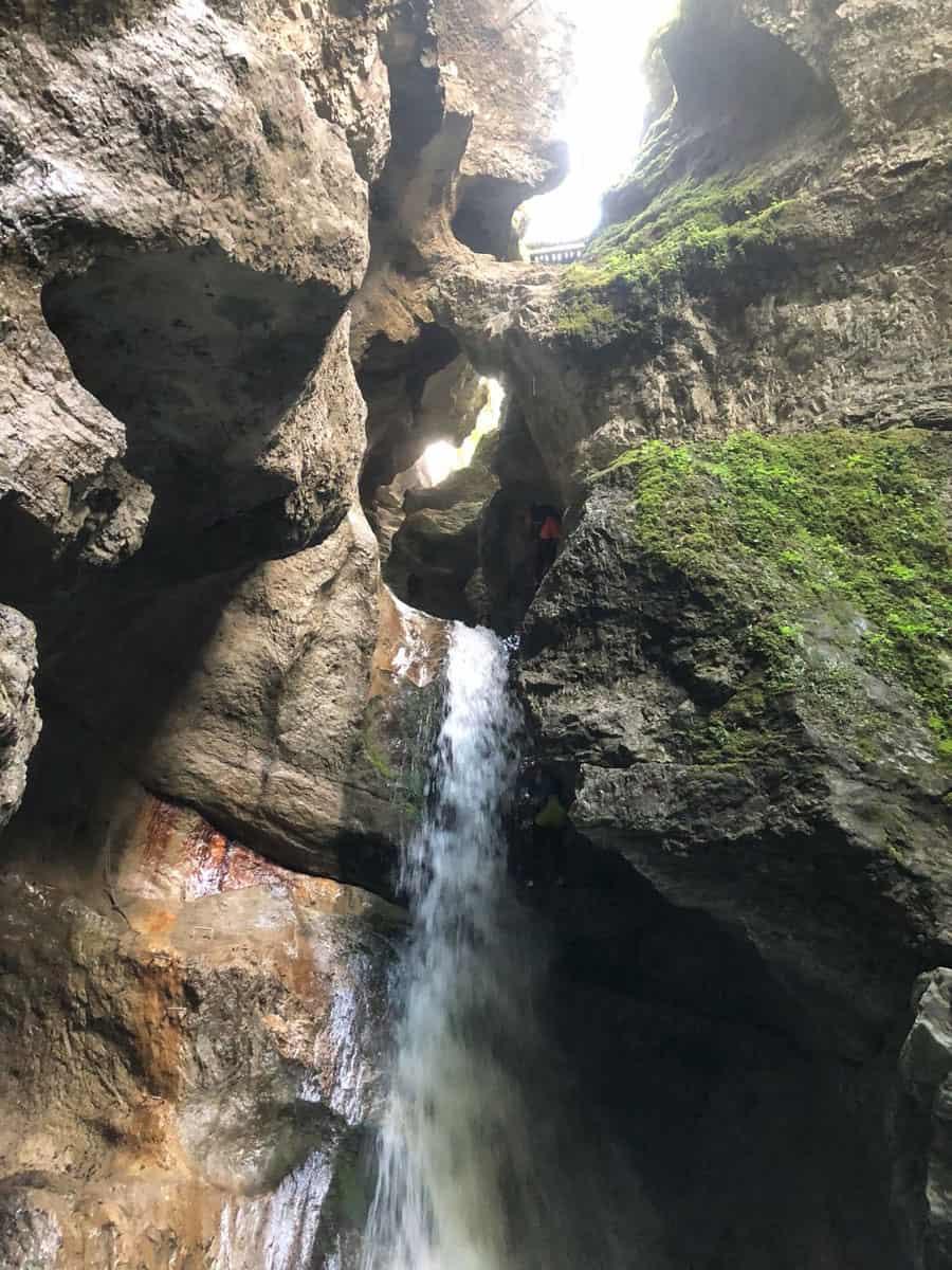 Zum Canyoning in die Taxaklamm – eines der vielen Angebote in der Bergsportwoche am Wilden Kaiser