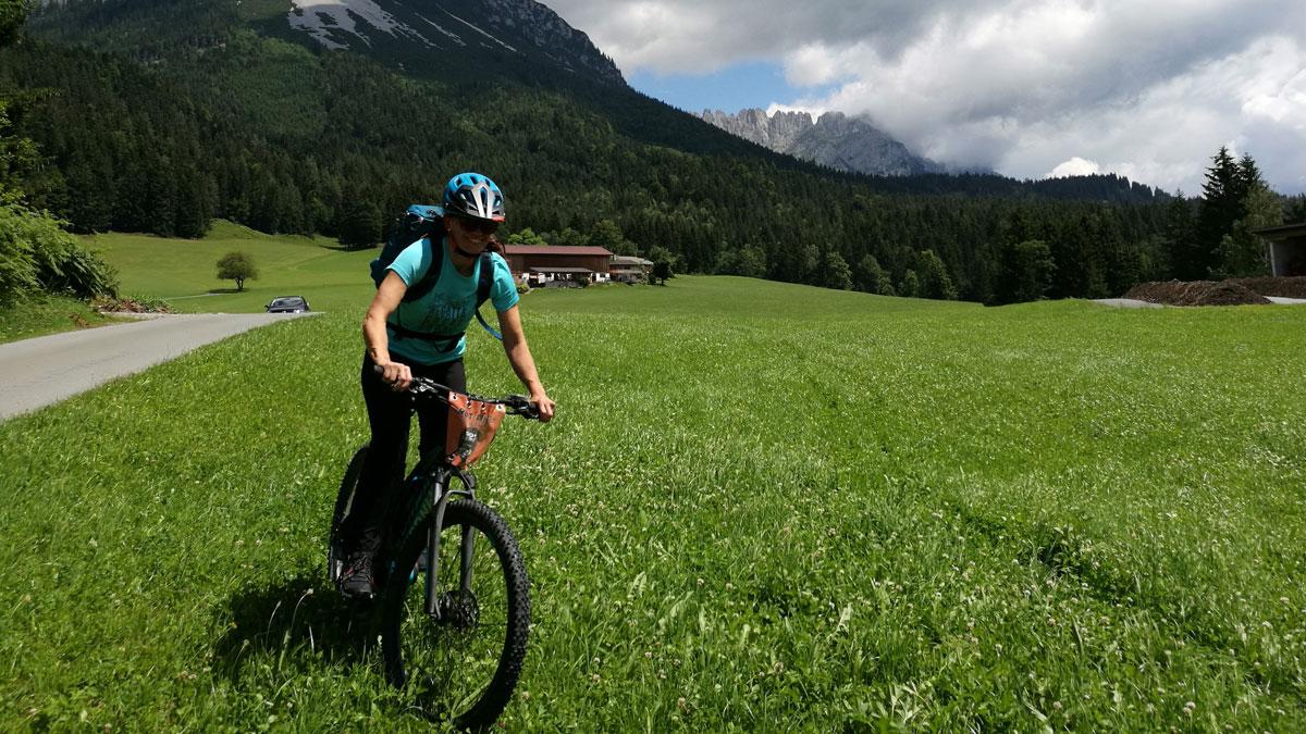 Den Wilden Kaiser entdecken - Eine E-Mountainbike Tour im Rahmen der #Bergsportwoche