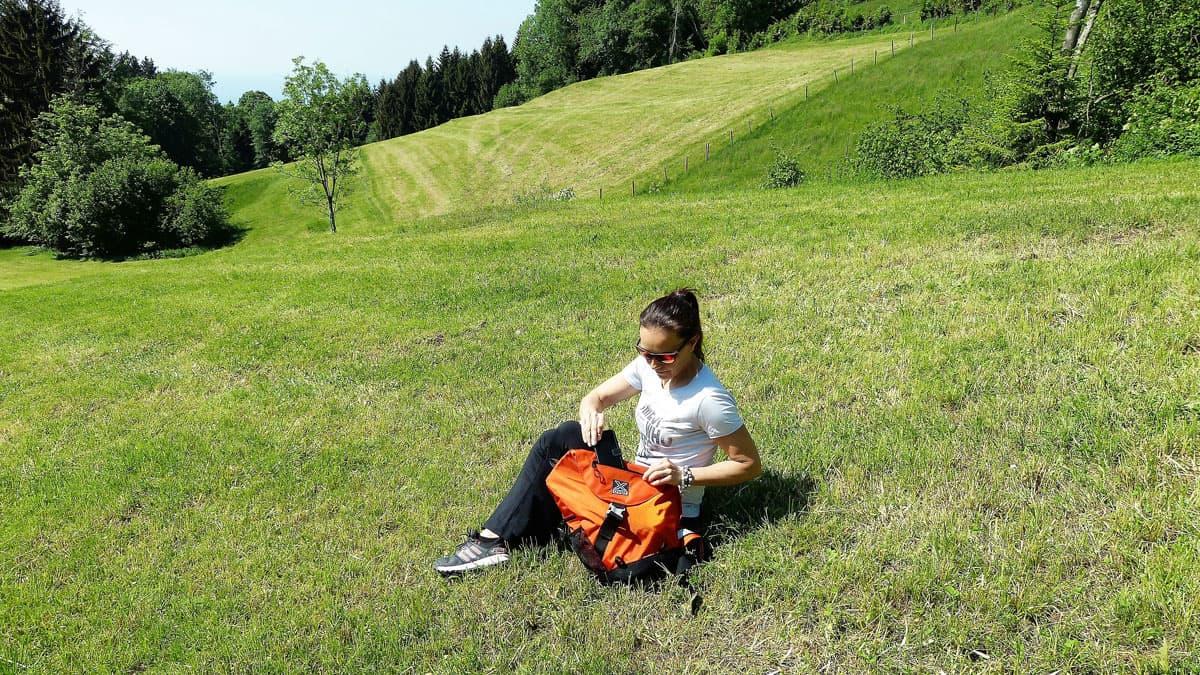 Welches ist der perfekte Rucksack für den Klettersteig und was nehme ich mit?