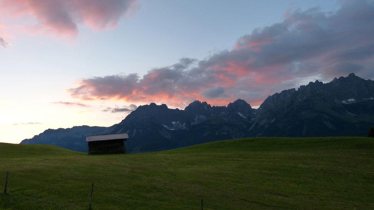 Bergsportwoche am Wildern Kaiser - ein wunderbares Naturerlebnis
