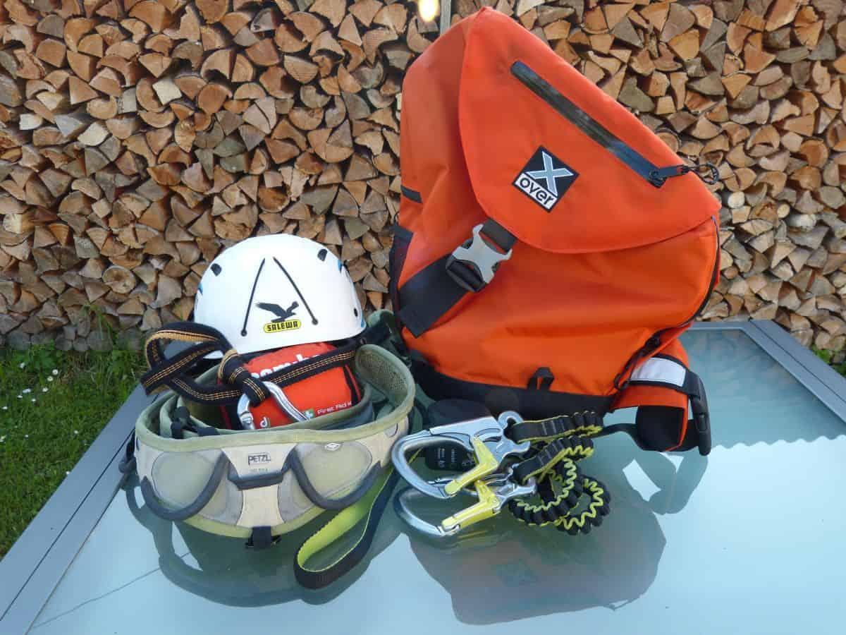 Klettersteig Equipment : Sicherheit am klettersteig sport oesterreich at