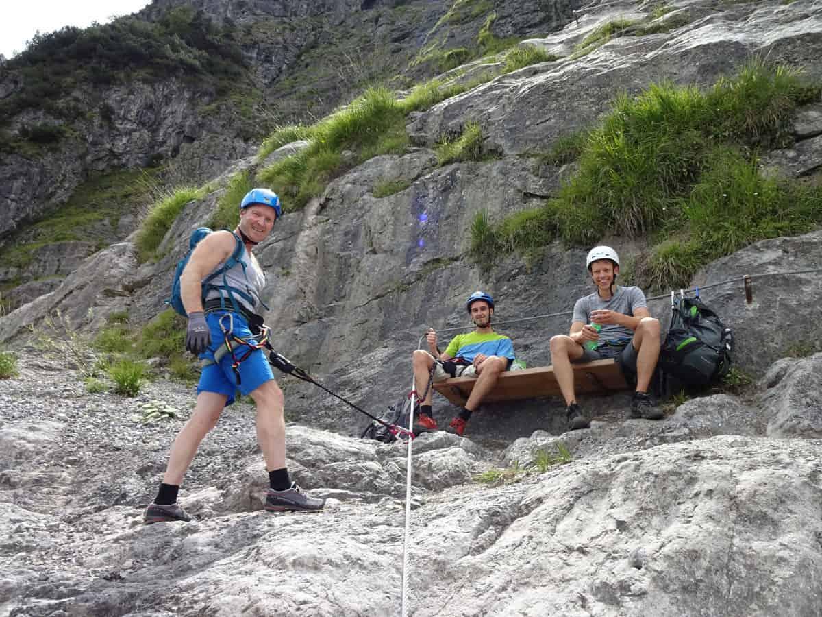 Klettersteig Fallbach : Der fallbach klettersteig im klostertal moosbrugger climbing