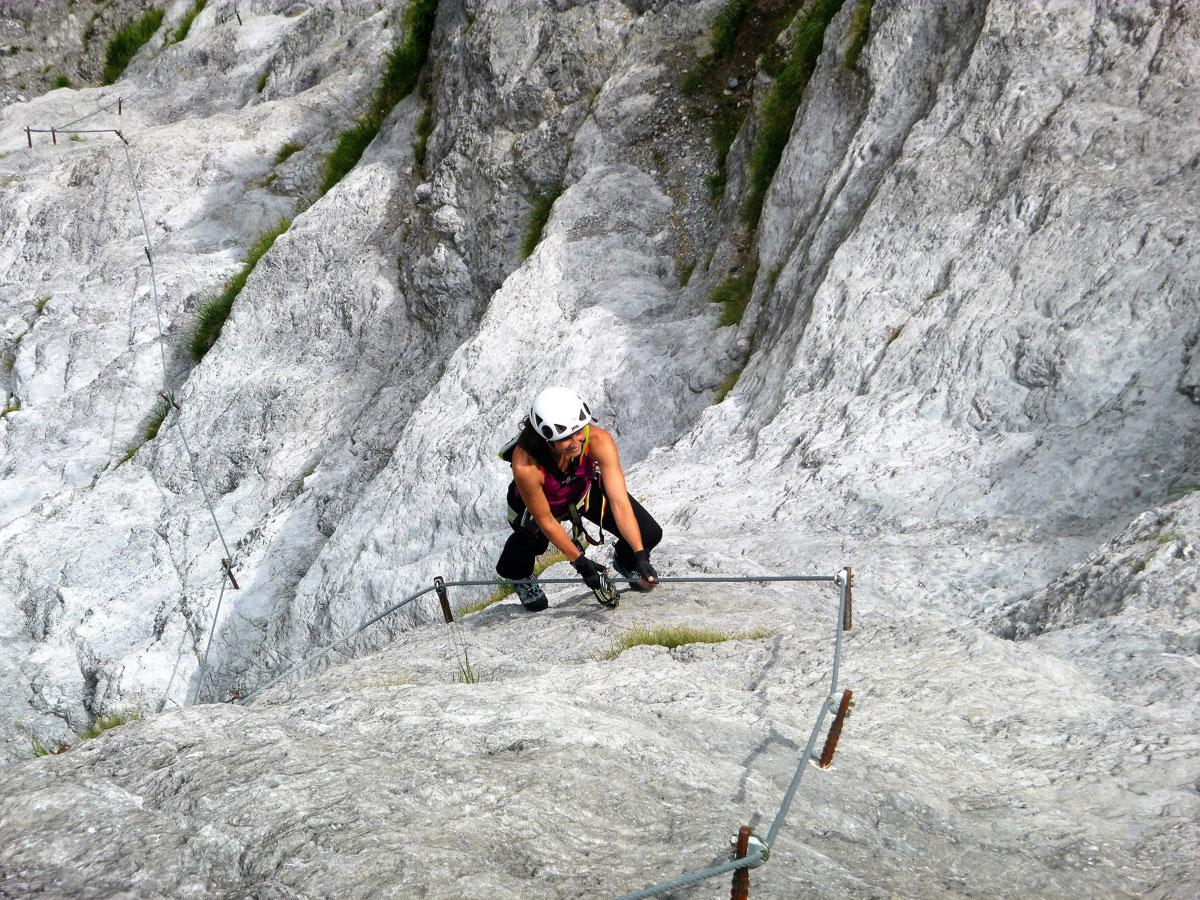 Kletterausrüstung Vorarlberg : Der fallbach klettersteig im klostertal moosbrugger climbing