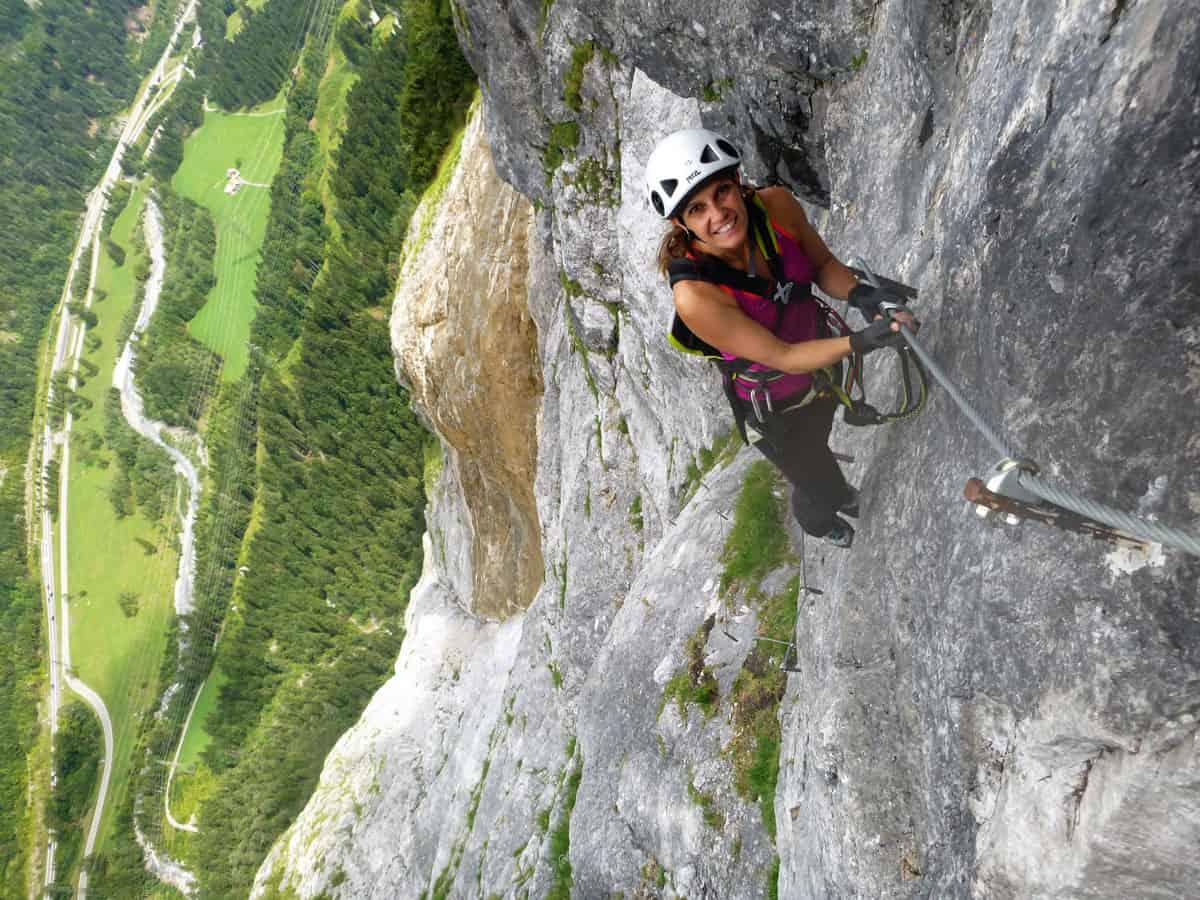 Klettersteig Fallbach : Fallbach klettersteig 5 moosbrugger climbing