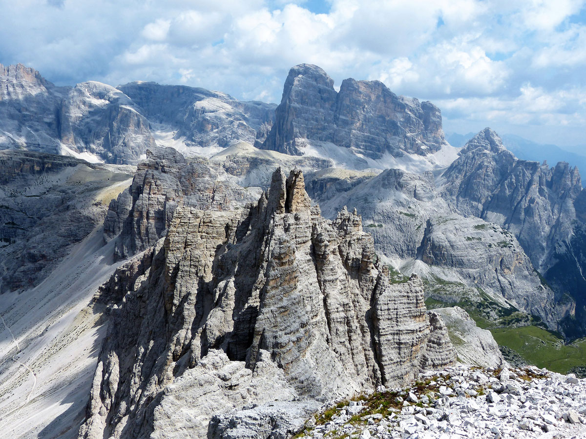 Klettersteig Drei Zinnen : Paternkofel klettersteig via ferrata de luca innerkofler