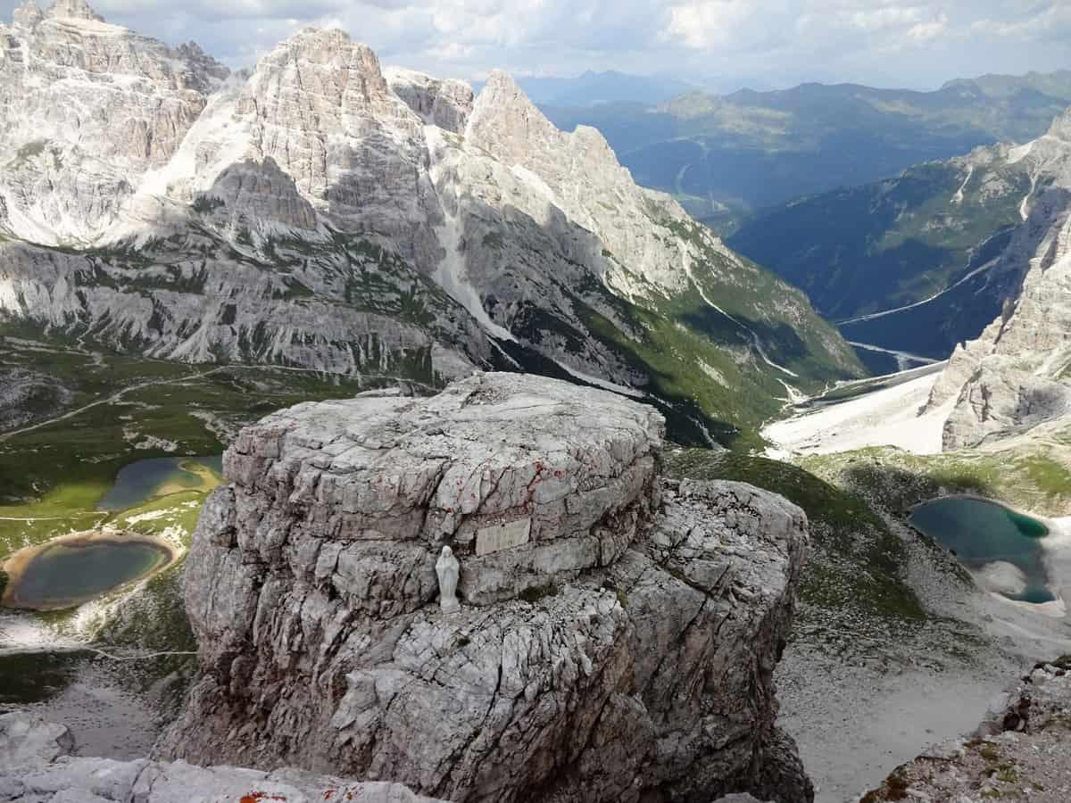 Klettersteig Drei Zinnen : Paternkofel klettersteig via ferrata de luca innerkofler besondere