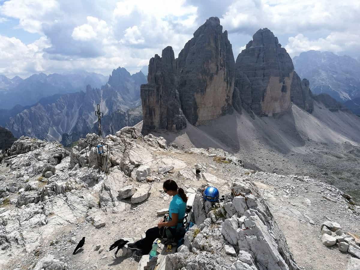 Klettersteig Paternkofel : Paternkofel klettersteig ferienregion kronplatz