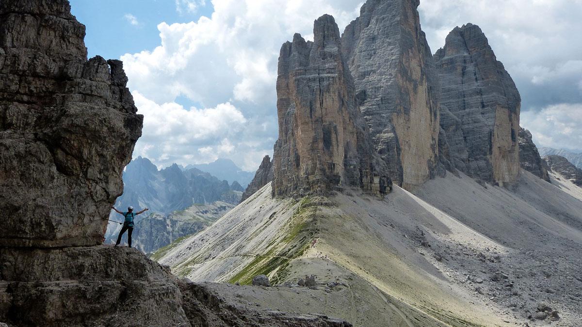 Klettersteig Paternkofel : Bergfex klettersteig tour venetien