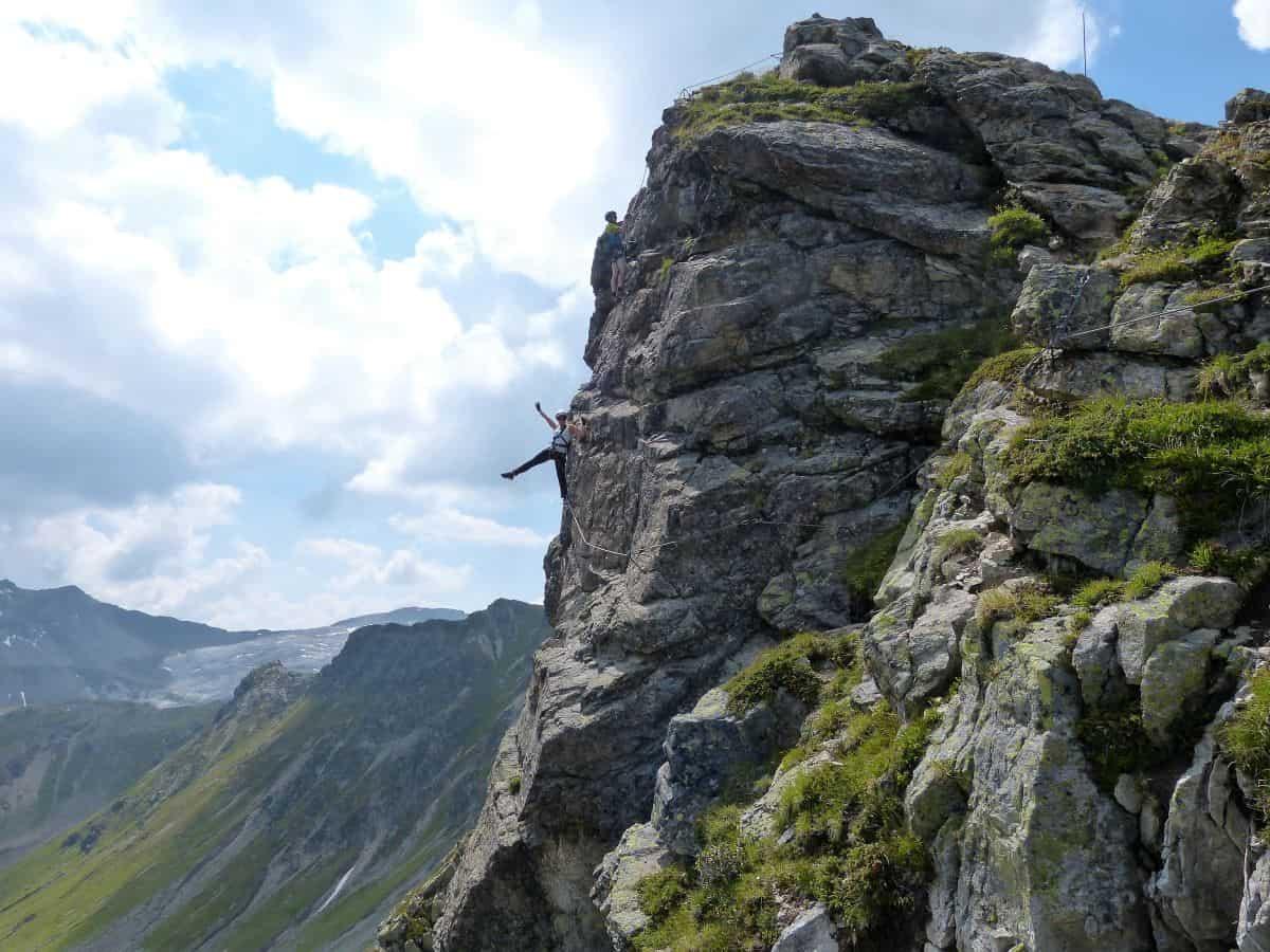 Vaude Klettersteig : Vaude klettersteig camp vom juli in ramsau am dachstein