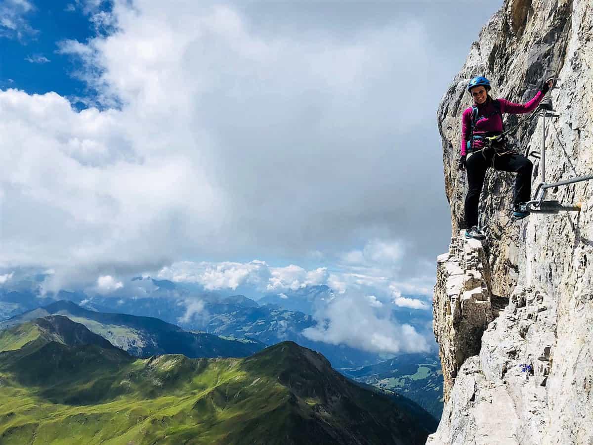 Fallbach Klettersteig Vorarlberg : Die schönsten klettersteige in vorarlberg von einfach bis