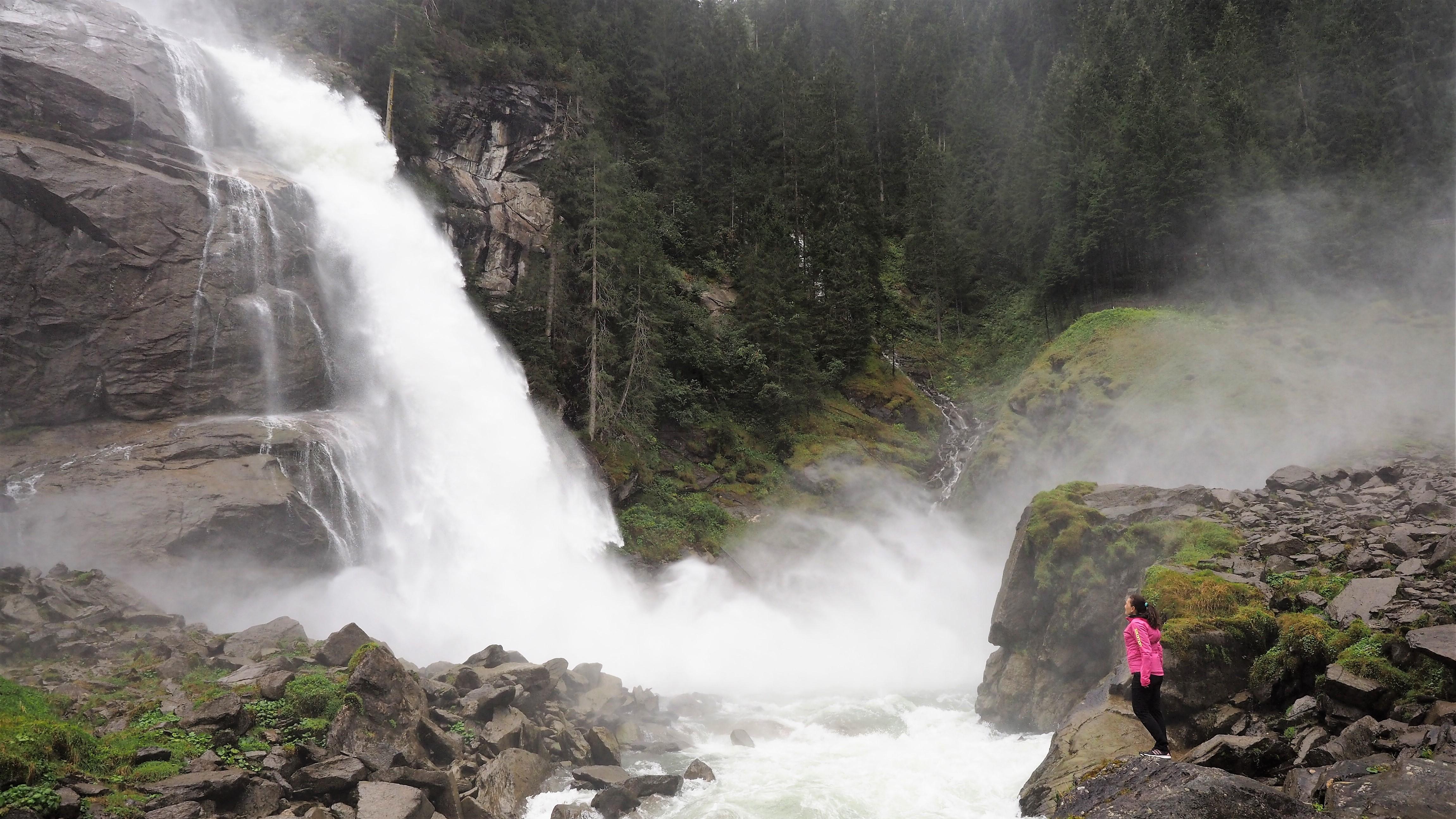 Die Krimmler Wasserfälle - eine Wohltat für die Lungen