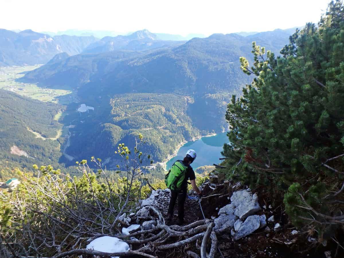 Klettersteig Himmelsleiter : Der donnerkogel klettersteig in oberösterreich smilesfromabroad