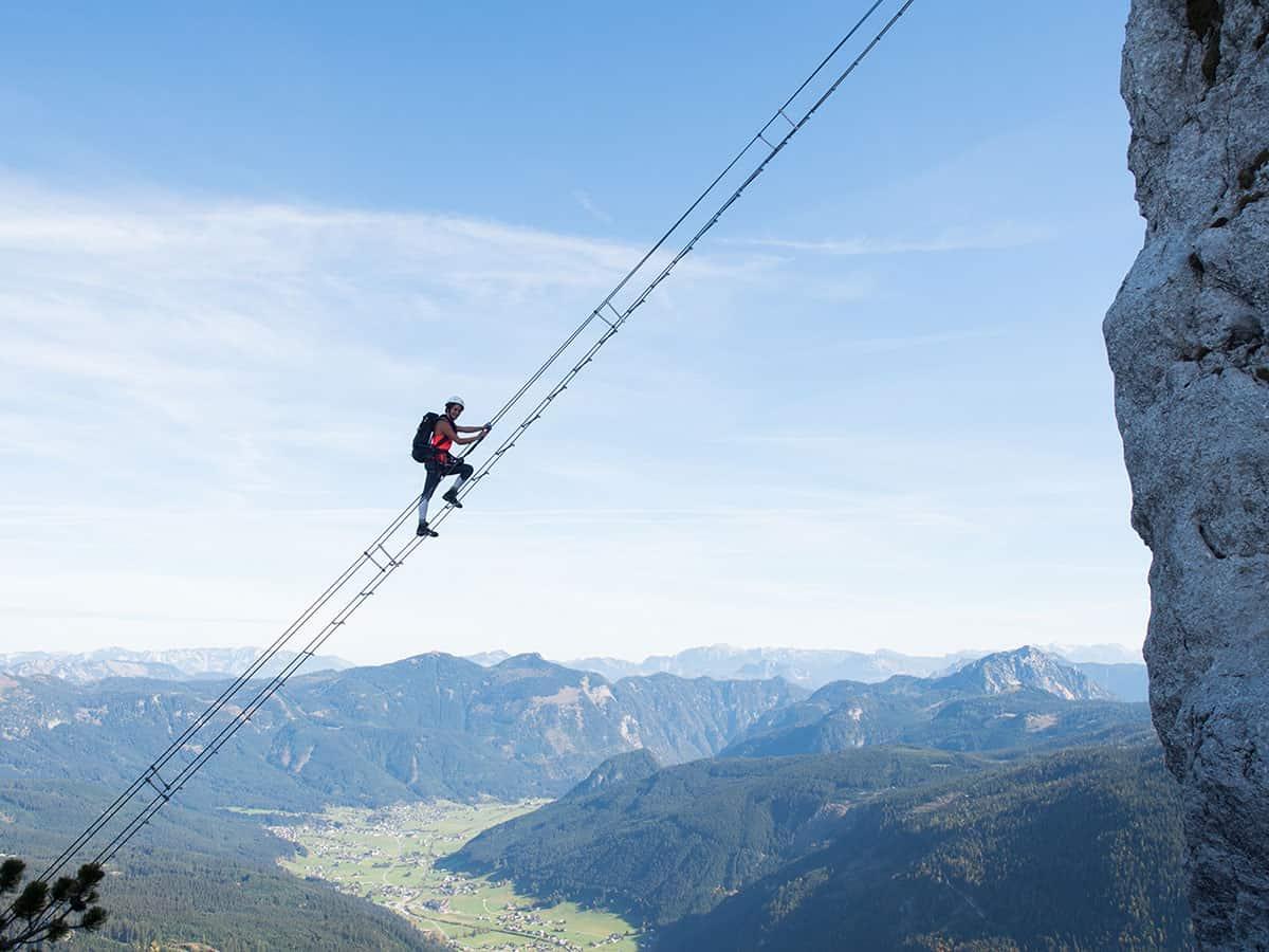 """Klettersteige am Gosausee! Gastbeitrag von """"smilesfromabroad"""""""