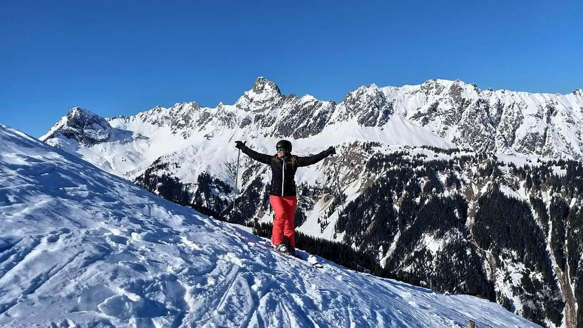 #meintraumtag im Skigebiet Golm
