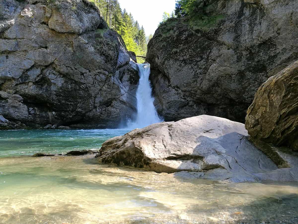 Die Buchenegger Wasserfälle - ein kleines Juwel!