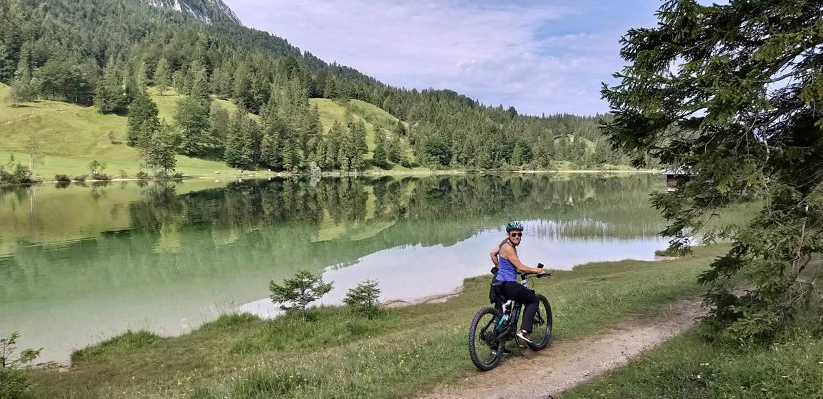 5 Seen E-Bike Tour in der Zugspitzregion