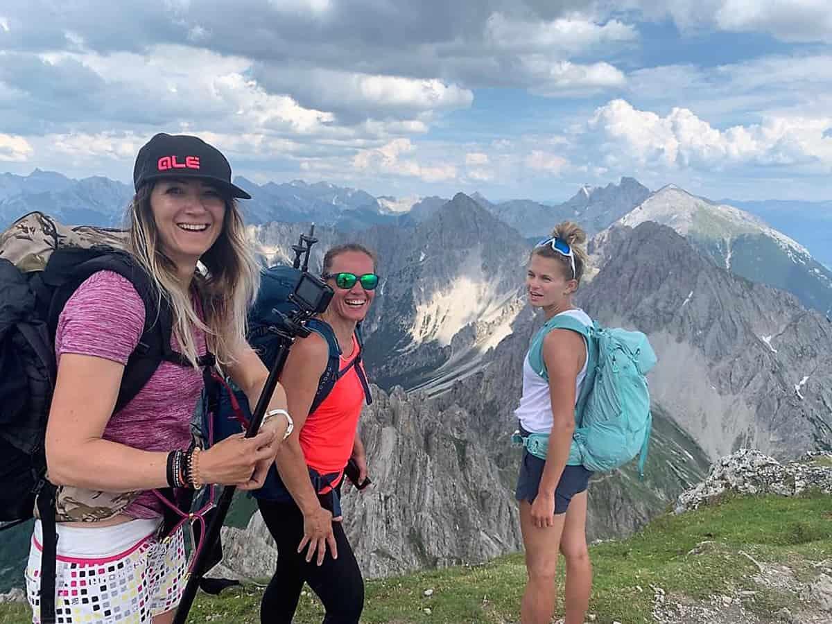Der Karwendel Höhenweg in Tirol - Etappe 1 bis 3!