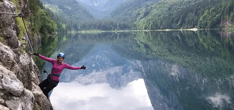 Laserer Alpin Steig Gosausee