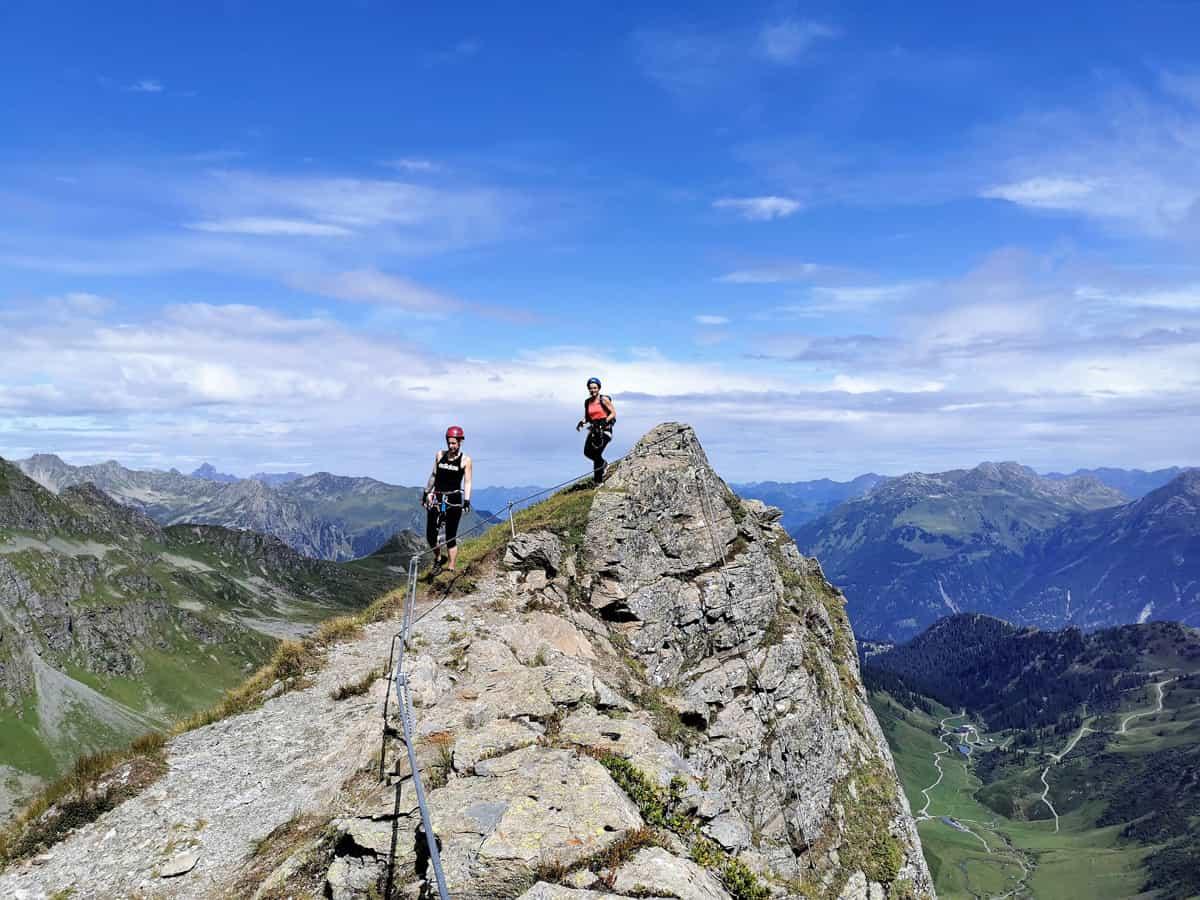 Der Madrisella Klettersteig im Montafon