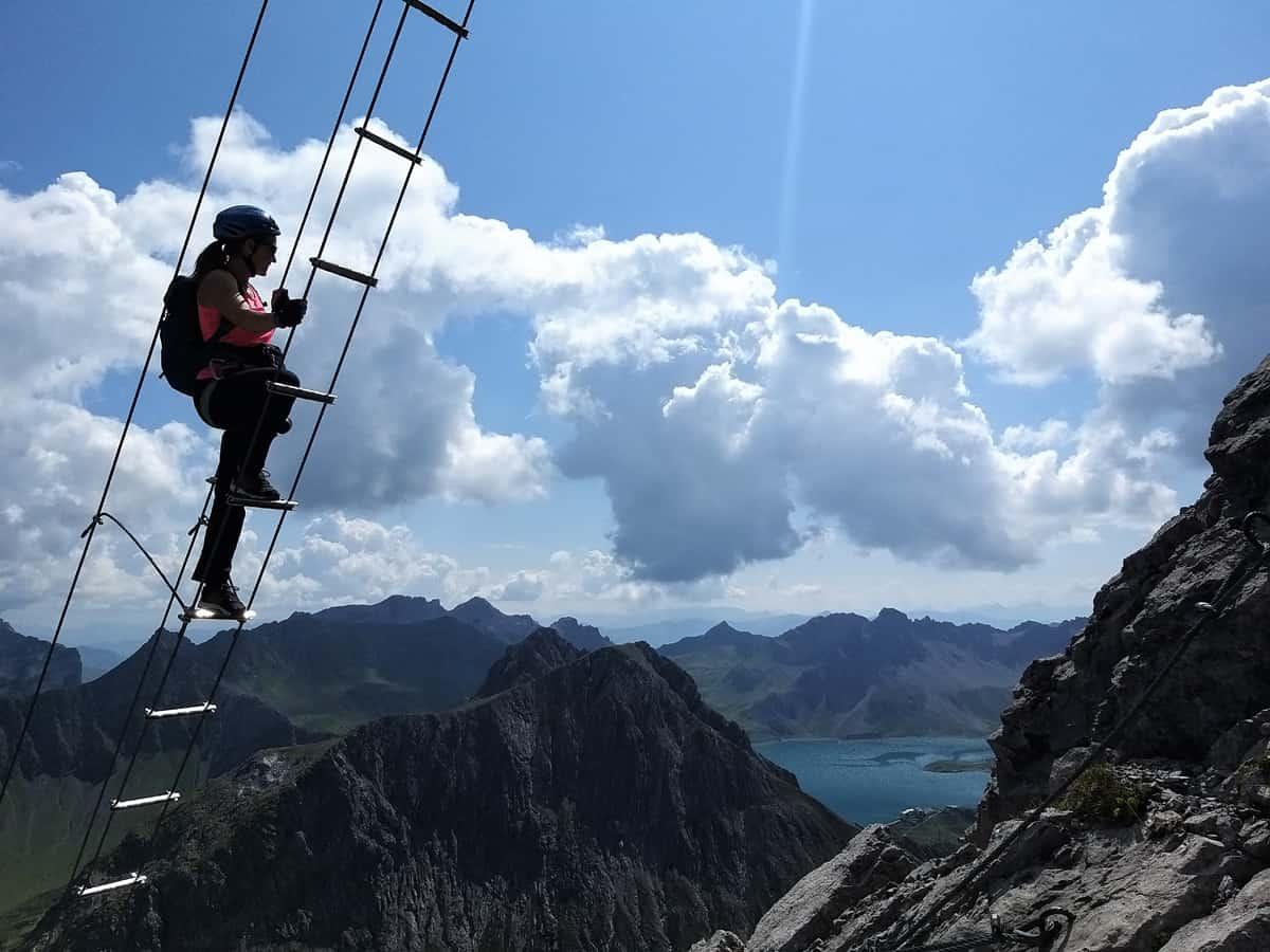 Saulakopf Klettersteig - einer der Schönsten in Vorarlberg!