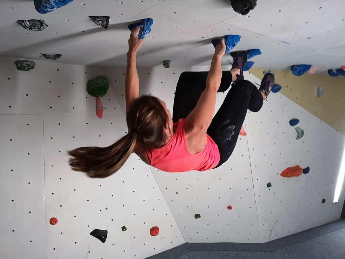 Block Monkey Ein Besuch in der Boulder und Kletterhalle