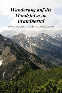 Wanderung auf die Mondspitze im Brandnertal
